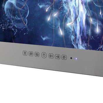 22inch  HDMI IP66 Magic Mirror TV Frameless Vanishing Hotel Waterproof TV