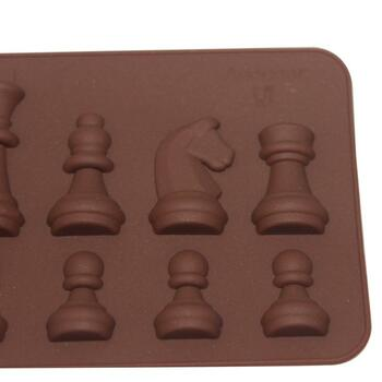 Silicone Mold Cake Decorating Moulds Tools DIY Chess Shape Moulds
