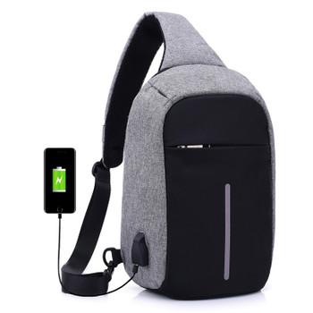 Canvas Men Backpack Anti Theft With Usb Charging Laptop Business Unisex Knapsack Shoulder Women Travel Bag  design boby bac