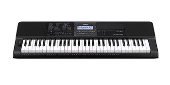Casio CT-X870IN Electronic Keyboard, 61 Piano Style Keys Full Keyboard with Adapter