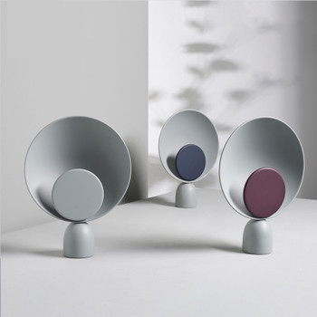 Modern Iron dressing LED table lamps bedroom bedside lights study reading lighting Nordic home deco desk lamps