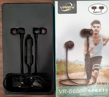 Varni VR-B600 Sports Wireless Headset Magnetic High Quality headphones