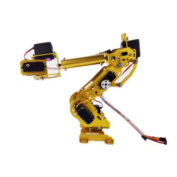 S7 7Dof Industrial Mechanical Robot Arm Model Stainless Steel Metal Robotic Manipulator DIY Vehicle Mounted