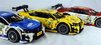 NEW Technic RC Motor Power Function Vehicle MOC 4339 4121 4224 4225 M4 DTM Mobile Building Kits Blocks Bricks birthday DIY Toys