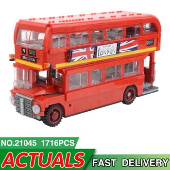 21045 London Bus 23006 23003 23018 Model Building Kit Blocks Bricks Gift Toys for Children legoing Technic McLaren P1 Racing Car