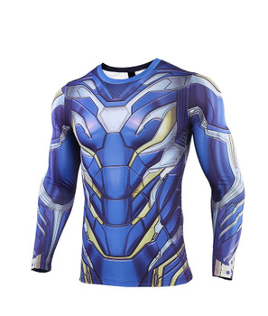 Avengers4 iron Man 2019 New 3D Compression Shirt Printed T shirts Men Compression Shirt Cosplay Quick-drying clothes For Gyms