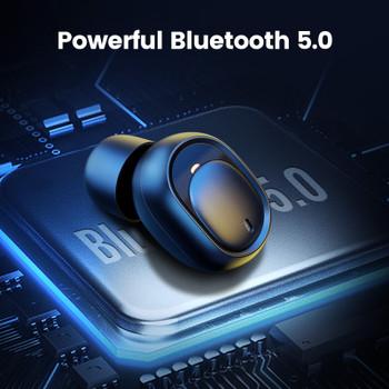 Ugreen Bluetooth Earphone 5.0 TWS True Wireless Earbuds Stereo Headphones Handsfree in Ear Phone Gaming Sport Headset