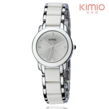 Kimio luxury Fashion Women's watches quartz watch bracelet wristwatches stainless steel bracelet women watches with Gift Box