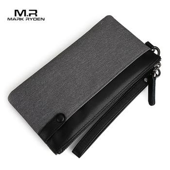 Mark Ryden Men's Wallet Thin Slim Wallet long Male Clutch Mens Wallets Hand Purse Pocket Cartera Hombre Billetera Hombre