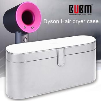 BUBM Dyson Supersonic Hair Dryer Hard Case,Magnetic Flip Anti-scratch Organizer Travel Gift Case for Dyson Supersonic Hair Dryer