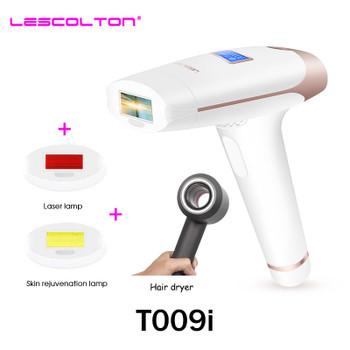 Lescolton IPL Epilator Permanent Laser Hair Removal LCD Display Pulses depilador a laser Bikini Trimmer Photoepilator