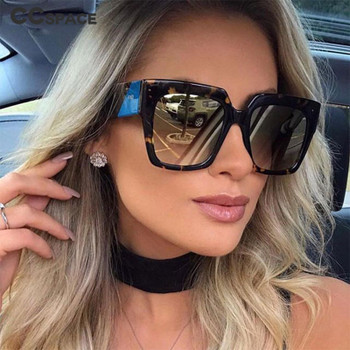CCSPACE 46001 F Square Sunglasses Men Women Brand Glasses Designer Fashion Male Female Shades
