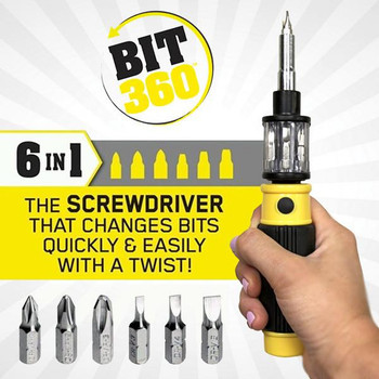 BIT 360 Screwdriver set