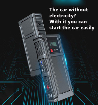 99900mAh Car Jump Starter Power Bank Portable Car Battery Booster Charger 12V Starting Device Petrol Diesel Car Starter Buster