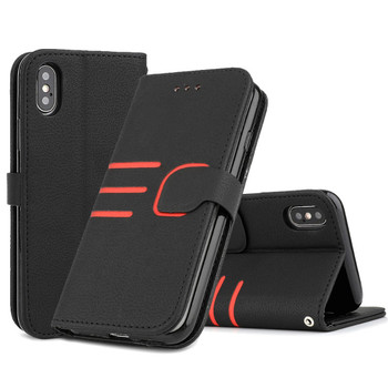 LCHULLE Classic PU Leathere Wallet Case for IPhone 11 Pro XS MAX XR X 5 5S SE 6 6S 7 8 Plus Card Slots Flip Phone Cover Coque