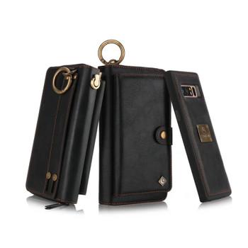 Purse Wristlet Phone case For Samsung Galaxy Note 9 8 S 10 + 10e 8 9 plus s7 edge coque Leather Funda Cover accessories Shell