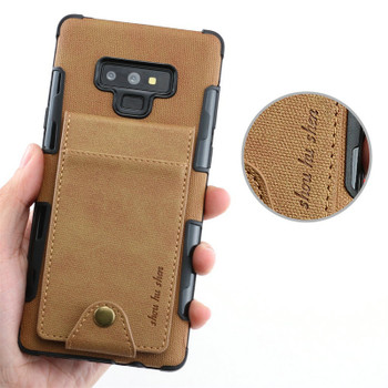 Card Slot For Coque Samsung A50 Case Note10 Samsung Note9 Case Cloth for Galaxy Note 10 Plus S10e S10 5G Flip Cover A20 A70 A50S