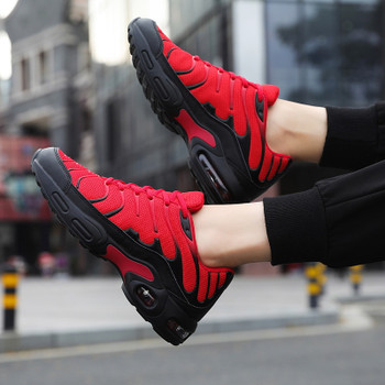 2020 Autumn Casual Shoes for Man Sneakers Fashion Mesh Light Breathable Sport Running Jogging Shoes Zapatos De Hombre Plus Size
