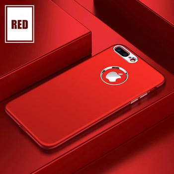 Luxury Matte Case for iPhone 6 6s 7 8 Plus Shockproof Rubber Silicone TPU Soft Case Cover for iPhone X Phone Bag