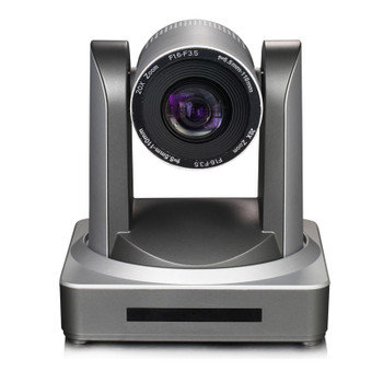 1080p 60fps 20x optical zoom motorized head video ptz broadcast cam ip 3g-sdi HDMI output silver color