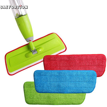 Hand-free Spray Water Spray Mop Cloth Full Of Star Microfiber Cloth Wet And Dry Mop Replacement Cloth