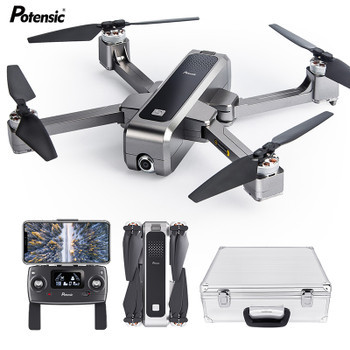 Potensic D88 5G WiFi FPV Drone with 2K Camera High Hold Mode Foldable Arm RC Quadcopter Drone with Case