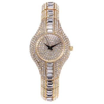 MISSFOX 30mm Small Womens Watch Shockproof Waterproof Luxury Ladies Ar Metal Watch bracelets Rhinestone Bu Cheap Chinese Watches