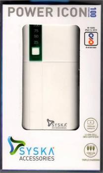SYSKA ICON Digital Power Bank (White)