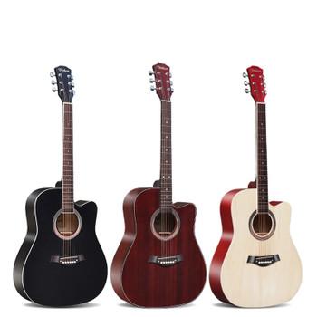 """DIDUO 41"""" Acoustic Guitar Rosewood Fingerboard Guitarra Musical Stringed Instruments 6 Strings Guitars"""