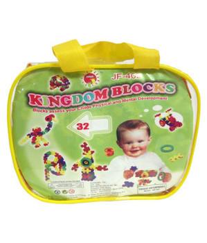 Little Genius Kingdom Blocks For Child JF-502A