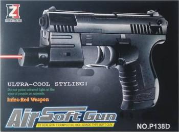 Ftoys Laser Air Soft Gun- New Arrival Guns & Darts (Black)