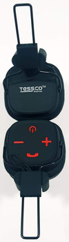 Tessco BH-386 Wireless Wired Stereo Headphone with High Sound Bass and Multi-Function Ear-Headphones