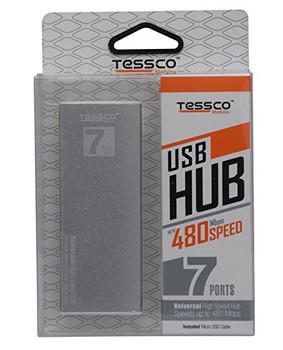 Tessco NU-501 High Quality 7 Ports USB Hub