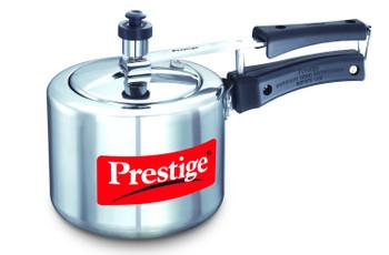 Prestige Nakshatra Aluminium Pressure Cooker, 3 Litres