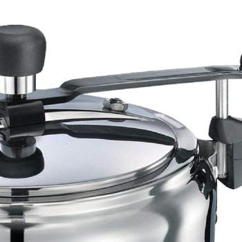 Prestige Nakshatra Alpha Induction Base Stainless Steel Pressure Cooker 3 Litters Silver