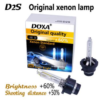 (2pcs/lot) Car Headlights Xenon D2S HID Bulb Lamp 4300K Warm White ,6000K white D2S Hot Selling