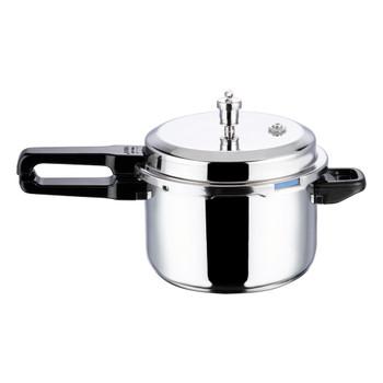 Vinod Platinum Triply Stainless Steel Pressure Cooker- 7 Ltr (Induction Friendly)