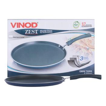 Vinod Zest Non-Stick Omni Tawa - 28 Cm