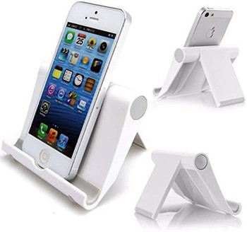 TAMGO TG-S8 Portable Foldable Holder Fold Stand for iOS, Android and All Mobile Phones Fold-able Mobile Stand Holder for All Phone