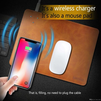 LEEU DESIGN PIERRE SERIES WIRELESS CHARGER MOUSE PAD