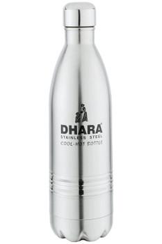 Dhara Stainless Steel Stainless Steel Bottle/flask, 1000ml