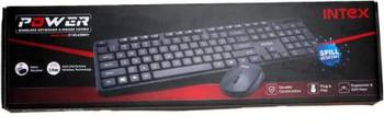 INTEX Power Wireless Keyboard & Mouse IT-WLKBM01 Combo Set