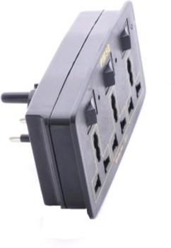 PM50 Multi Plug 3 Socket Surge Protector