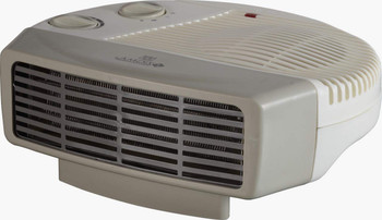 Signus Fan Heater with Room Adjustable Thermostat (White)1000/2000 Watts
