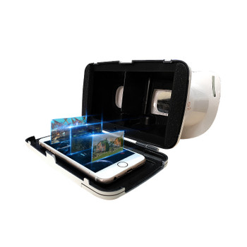 Le-Vision VR BOX Mini VR Glasses Virtual Reality Goggles 3D Glasses Google Cardboard 2.0 BOBO VR Headset For 3.5-6.0 Smartphone
