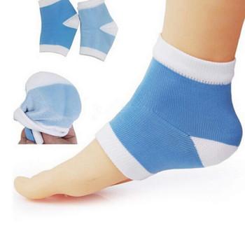 Gel Anti Crack Heel Pain Relief Silicone Gel Heel Socks anti crack heel socks Heel Protector Socks Foot Protector Silicon Toe Free Heel Pain Relief Socks for Men and Women