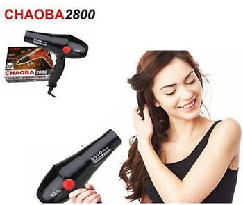 CHAOBA 2800 Professional Hair Dryer 2000 W. 2800 Professional Hair Dryer Hairs 2000Watts. Hair Dryer (2000 W, Black)