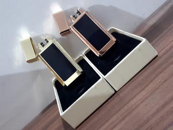 Usb Lighter Fashionable Digital Display Ship Style