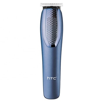 HTC-AT-1210 Rechargeable Hair Beard Trimmer With 4 Hair Clipper Runtime: 45 min Trimmer for Men & Women (Blue)
