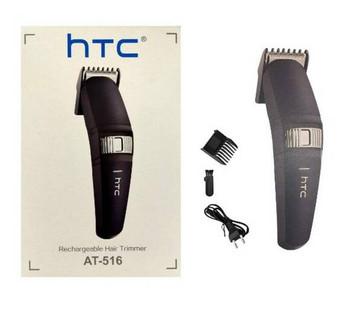 HTC AT-516 Trimmer Runtime: 45 min Trimmer for Men (Black, Silver, Steel)